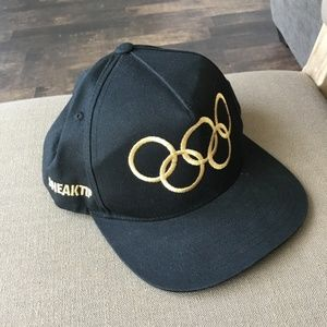 The Classics Yupoong Sneaktip Olympic Rings Hat